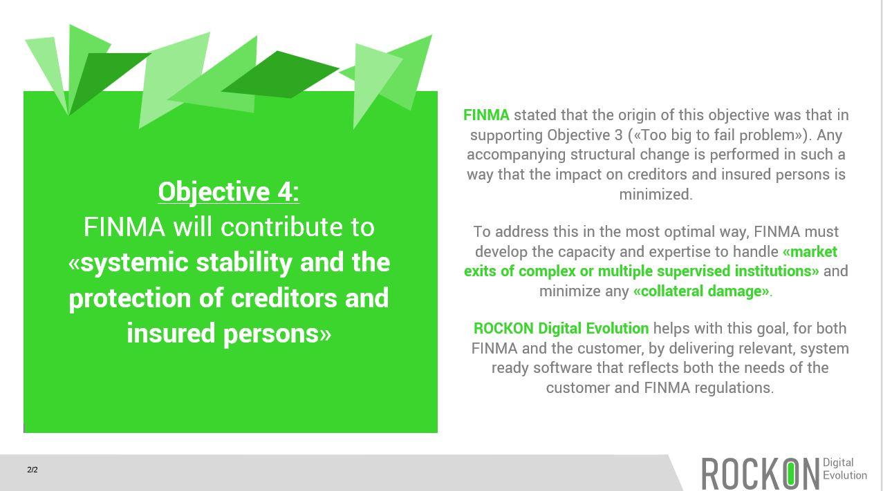 FINMA Goal 4 2020