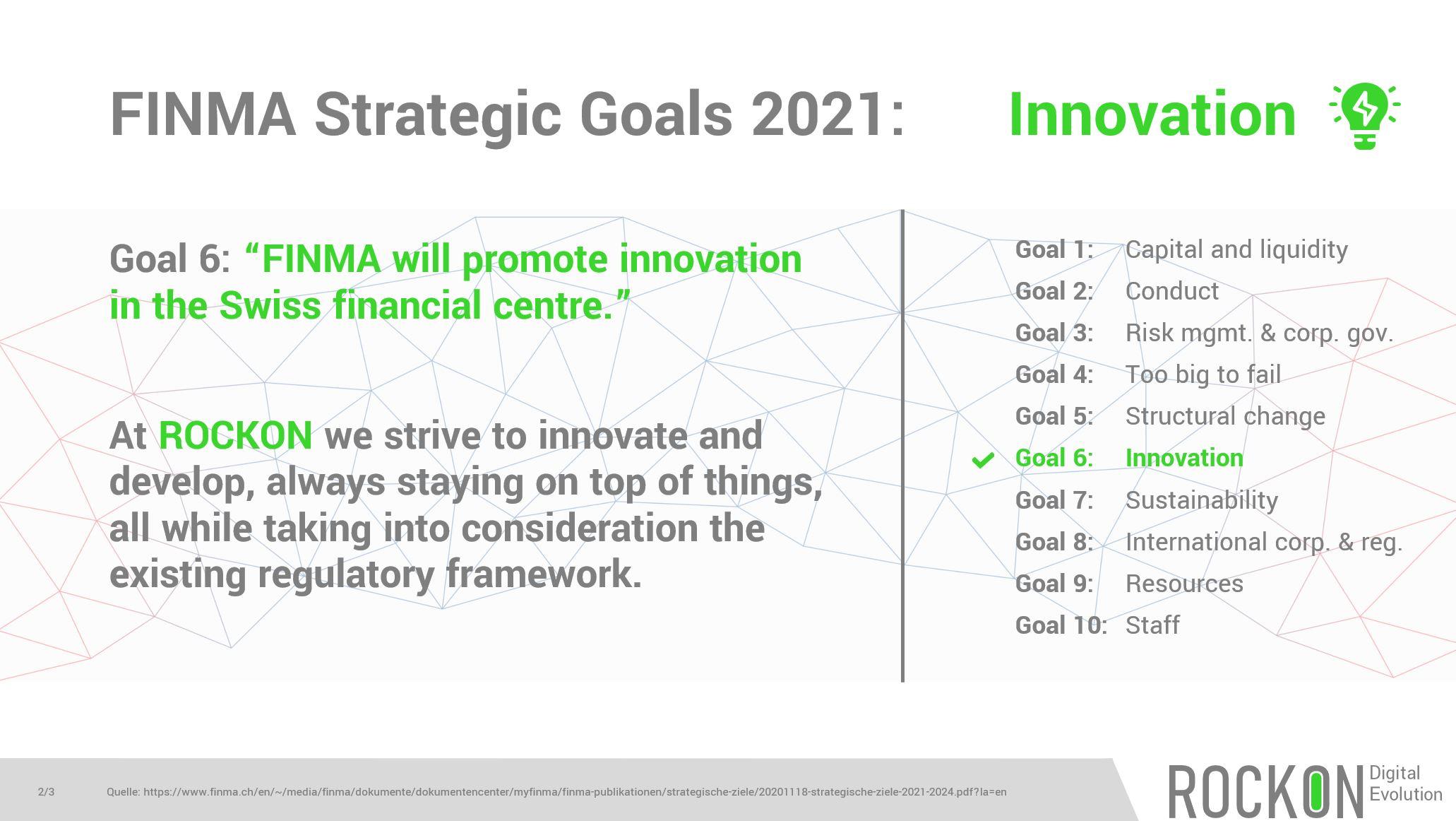 6 FINMA 2021_Innovation