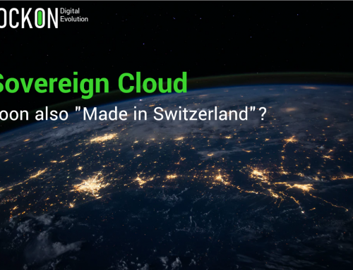 """Sovereign Cloud – Soon also """"Made in Switzerland""""?"""