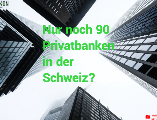 Only 90 private banks left in Switzerland?